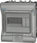 Щит розподільчий на 6 модулів, з прозорими дверцятами, IP65, VECTOR Hager