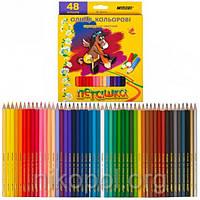Набор цветных карандашей MARCO Пегашка 1010-48CB, 48 цвета