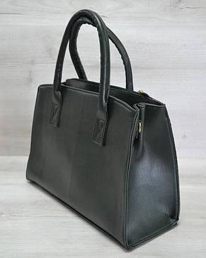 fafcee5f89bc Молодежная каркасная женская сумка зеленая змея 52019: продажа, цена ...