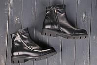 Женские повседневные ботинки с молнией на низком ходу