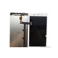 Дисплей (экран) для Fly iQ453 Quad Luminor FHD/ BLU L240A Life Pure/ L240I/  с тачскрином/сенсором (модуль) белый