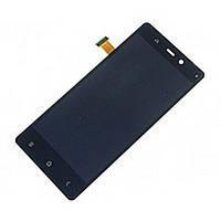 Дисплей (экран) для Fly iQ453 Quad Luminor FHD/ BLU L240A Life Pure/ L240I/  с тачскрином/сенсором (модуль) чёрный