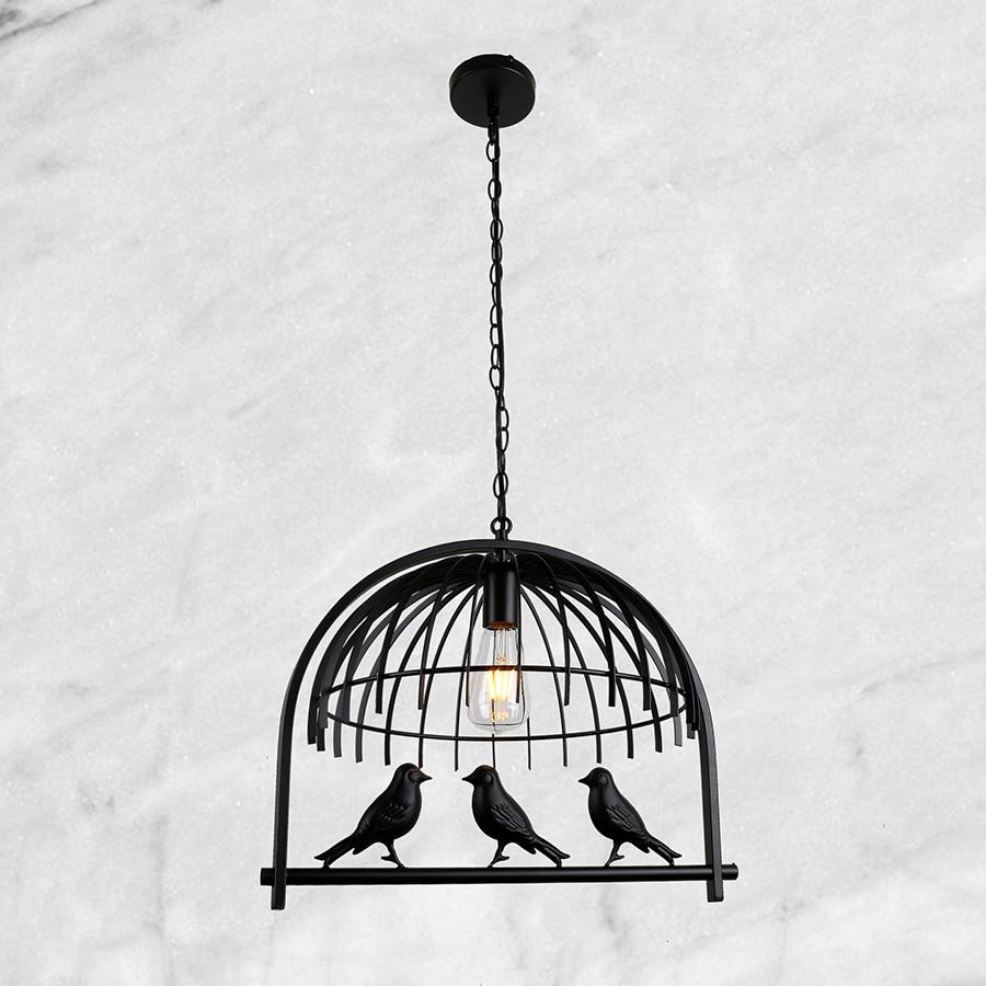 """Підвіс-люстра """"Клітка з пташками"""""""