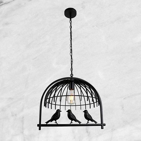 """Підвіс-люстра """"Клітка з пташками"""", фото 2"""