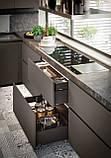 Итальянская современная кухня без ручек и крашенным фасадом YOTA фабрика Armony Cucine, фото 7