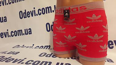 Мужские трусы боксеры бесшовка с логотипом реплика, фото 2