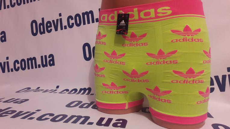 Боксери чоловічі бесшовка Adidas репліка, фото 2