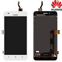 Дисплей (экран) для Huawei Y3 II 2016/ LUA-U03/ U22/ U23/ L03/ L13/ L23 с сенсором/тачскрином (модуль) белый (версия 3G)