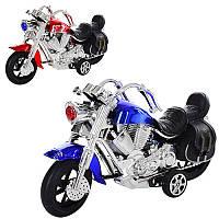 Мотоцикл 1234 инерционный