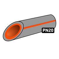 Труба поліпропілен 25 Koer pn - 20