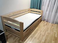 Кровать из натурального дерева детская Панда 2 Р (200х90), фото 1