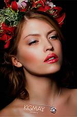 "Серебряный кулон  Kigmay Jewelry ""Танцующее сердце с короной"", фото 3"