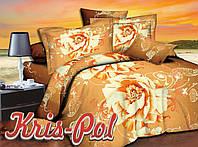 """Двуспальный комплект постельного белья """"Цветущая любовь""""."""