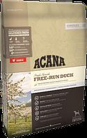 Сухой беззерновой корм Acana FREE-RUN DUCK (для собак всех пород и всех возрастов)350G (x30).