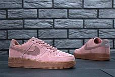 Кроссовки женские Nike Air Force 1 Low Pink топ реплика, фото 2