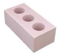 Кирпич силикатный одинарный лицевой, Розовый 250*120*65