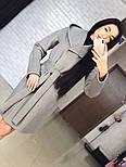 "Стильне жіноче демісезонне пальто кашемірове з капюшоном ""Gloria"" (3 кольори), фото 2"