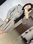 "Стильне жіноче демісезонне пальто кашемірове з капюшоном ""Gloria"" (3 кольори), фото 3"