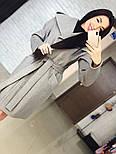 "Стильне жіноче демісезонне пальто кашемірове з капюшоном ""Gloria"" (3 кольори), фото 5"