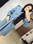 "Стильне жіноче демісезонне пальто кашемірове з капюшоном ""Gloria"" (3 кольори), фото 7"