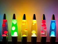 Светильник, ночник Лава лампа с парафином Magma Lamp высота 34см, Green, Yellow, Red, Blue
