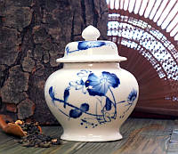Ёмкость для хранения чая Чайница фаянс