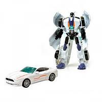 Трансформер JQ6107 металлический, робот+машина