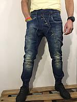 Мужские джинсы INFOR'S HOMME DENIM оригинал 105688 синие 28-32