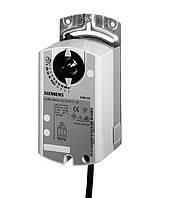 Электропривод Siemens GBB161.1E (24 В) с аналоговым управлением, для воздушной заслонки 4 м²