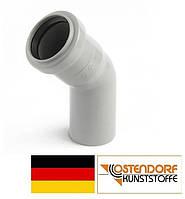Колено PP 32 х 30º внутренней канализации (белое) Ostendorf HT Германия