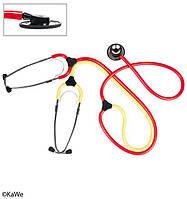 Учебный стетоскоп для медсестёр Планокрасный