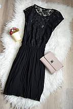 Черное платье с кружевным верхом ASOS, фото 2