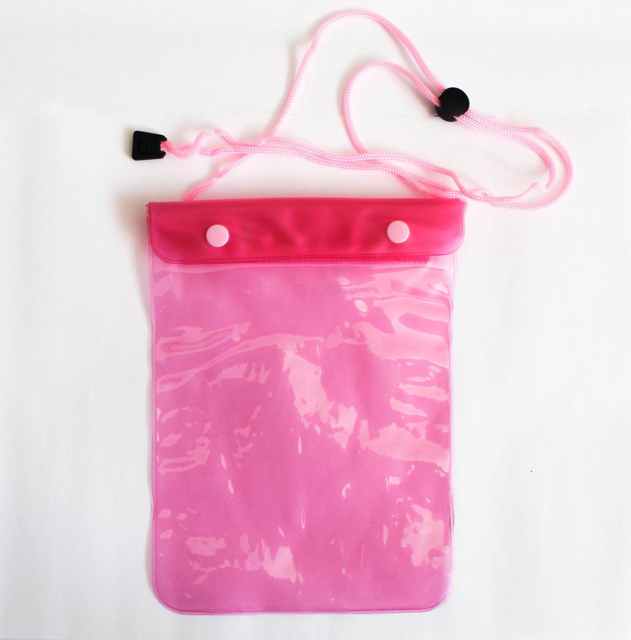 Чехол водонепроницаемый розовый