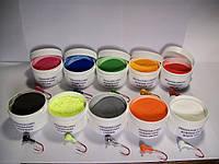 Краска для джиг головок, покраска грузиков, металлической блесны
