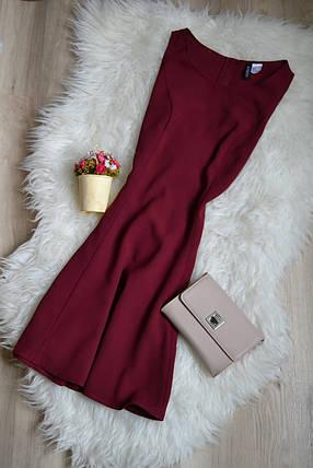 Бордовое платье H&M, фото 2