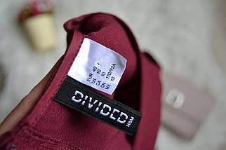 Бордовое платье H&M, фото 3