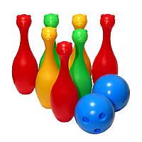 Кегли 2 шара ,M-toys, 05022, детские кегли, шары для боулинга
