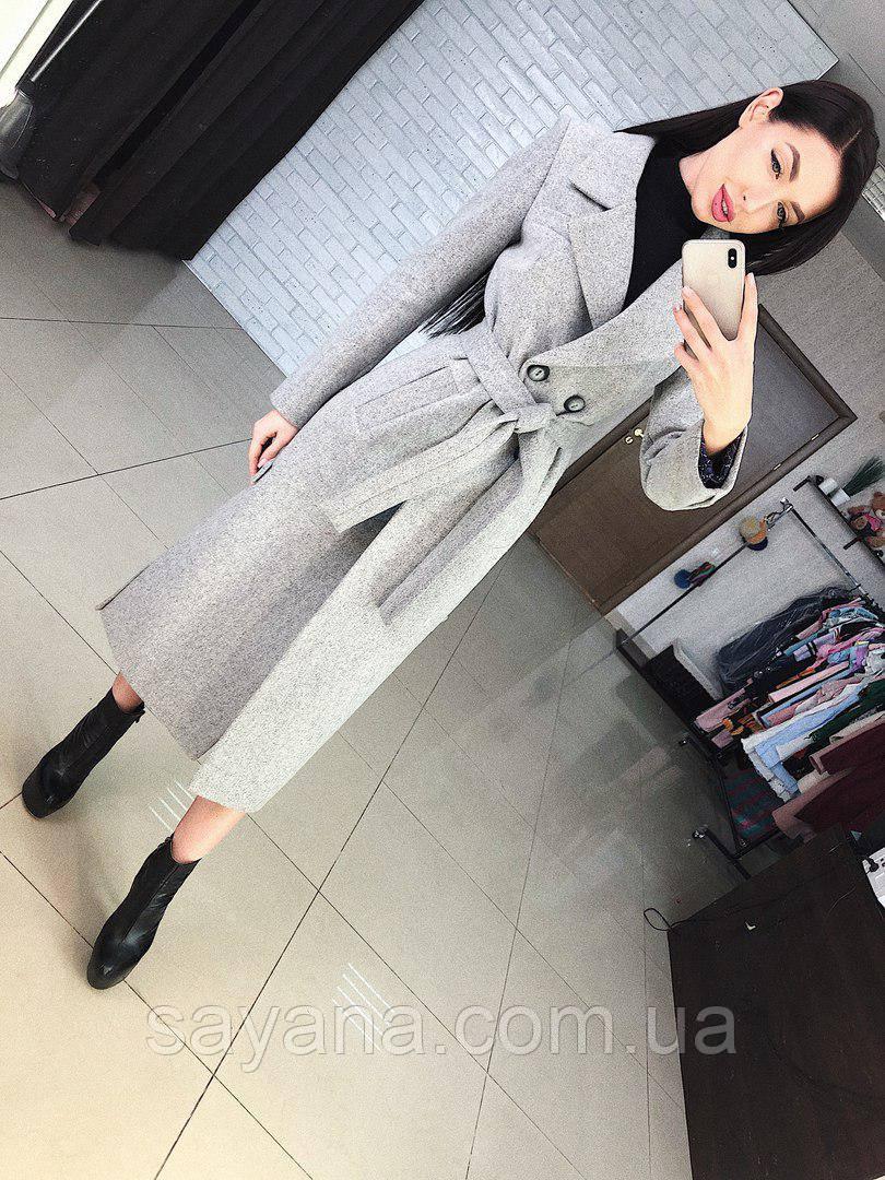 """Женское пальто """"Дания"""" в расцветках, р-р 42-50. Т-5-0218"""