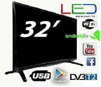 "Новый SMART TV Led телевизор Backlight TV L32"" ANDROID,HD Ready, Телевизор LED, Плазма диагональ 32"