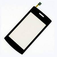 Тачскрин (сенсор) для LG GT500/ GT505 черный оригинал