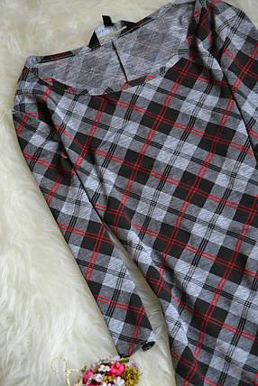 Короткое облегающее платье в клетку New Look, фото 2