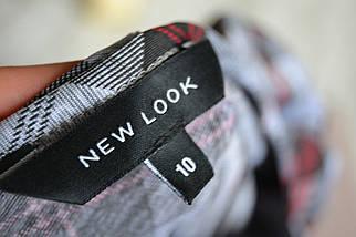 Короткое облегающее платье в клетку New Look, фото 3