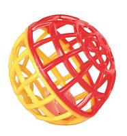 """Игрушка для попугая """"Мячик с колокольчиком"""" 4,5см, Trixie красно-синий, фото 1"""