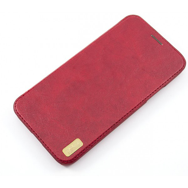 Кожаный чехол-книжка XO Creative case для Apple Iphone X
