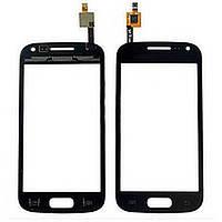 Тачскрин (сенсор) для Samsung i8160 Galaxy Ace II чёрный оригинал