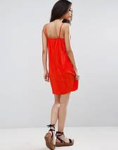 Яркое плиссированное платье на бретельках ASOS, фото 2