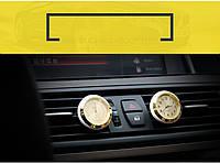 Термометр + часы в салон авто