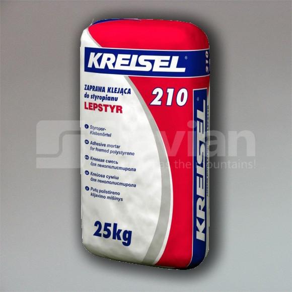 Клей для пенопласта Kreisel Lepstyr 210, 25кг