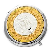 Зеркальце карманное Телец WIN- 02-7