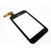 Тачскрин (сенсор) для Sony ST25i Xperia U чёрный